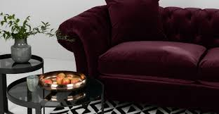 What Is A Chesterfield Sofa by Bardot 3 Seater Chesterfield Sofa Merlot Velvet Made Com