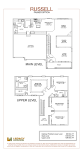 russell floor plan legacy homes omaha and lincoln