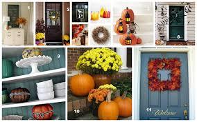 Autumn Decorations Home Pinterest Fall Home Decor Bjhryz Com
