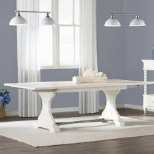 expandable dining tables you love wayfair baroncourt trestle dining table