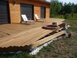 Bois Composite Castorama by Nivrem Com U003d Construire Une Terrasse En Bois Castorama Diverses