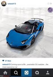lamborghini png lamborghini aventador lp 750 4 sv roadster revealed edit one