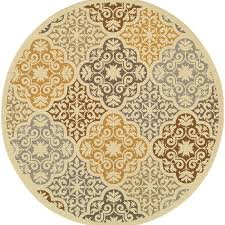 yellow brown colton yellow brown indoor outdoor area rug reviews allmodern
