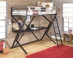 girls loft beds with desk furniture bunk bed shelf attachment bed desk combo loft bed