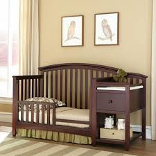 Mini Crib With Attached Changing Table Wonderful Espresso Mini Crib With Changing Table Attached Recomy