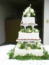 wedding cake greenery square wedding cake with buttercream and greenery strawberry
