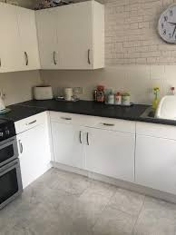 how to touch up white gloss kitchen cabinets 67 5cm x 2m d c fix glossy white sticky back plastic vinyl