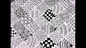 15 easy zentangle patterns full page zentangle karthika loves