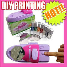 How To Decorate Nails At Home Machine To Decorate Nails Home Digital Diy Stamping Nail Art