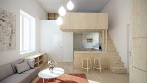 Apt Space Saving Trends From Japan Vanilla  Ebony - Interior design for a small apartment