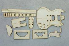 guitar template ebay