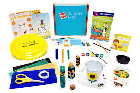 surprise ride educational subscription box for kids cratejoy