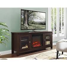 traditional furniture walker edison furniture company 58 in wood media tv stand console