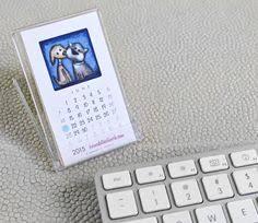 Small Desk Calendar 2015 Northwest Treasures Mini Desk Calendar 2015 Por Emilyanndesigns