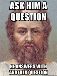 Philosophical Memes - not exactly a direct reference to socrates but i thought this was a