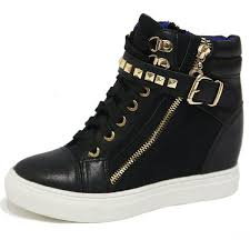 high tops best 25 gold high top sneakers ideas on high top