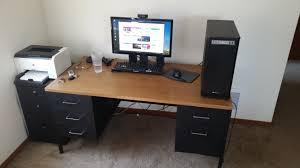 Pc Desk Ideas Uncategorized Custom Desks For Inspiring Custom Pc Desk