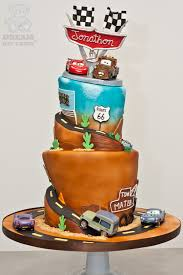 cars themed birthday cake gainesville bearkery bakery