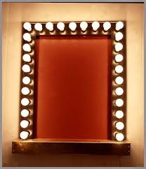 mirror with light bulbs light bulb vanity mirror with bulbs mirrors regard to plan 2