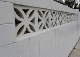 Decorative Concrete Block Fence • Fences Ideas