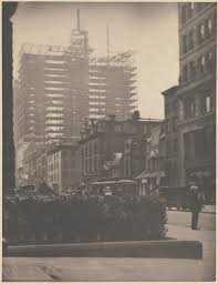 Alfred New York Map by Alfred Stieglitz Old And New New York The Met
