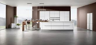 bonnet cuisine cuisine aménagée blanc laque et inox pour la cuisine rive gauche
