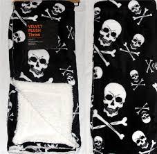 Halloween Skeleton Shirt by Velvet Plush Sherpa Skeletons Sugar Skulls Cats Witches Halloween
