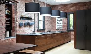 exposed brick wall kitchen kitchen with brick kitchen with brick