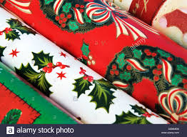 christmas gift wrap rolls colourful christmas gift wrap rolls stock photo royalty free