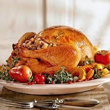 thanksgiving dinner menus