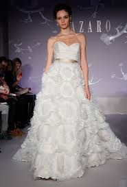 wedding dresses 2011 lazaro fall 2011 wedding dresses and style brides brides