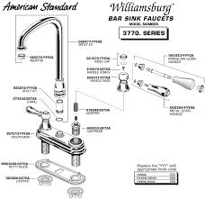 impressive design parts of a bathroom sink faucet com american