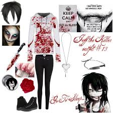 Jeff Killer Halloween Costume Jeff Killer 13 Polyvore