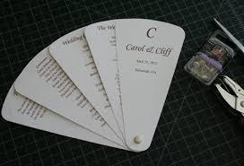 fan style wedding programs fan style wedding invitations cherish paperie diy wedding