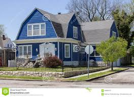 gambrel style roof exploit what is a gambrel roof shingle style house stock photo image