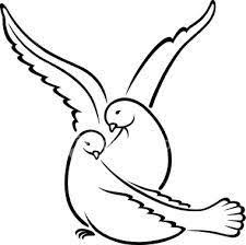 dove bird sketch peace flying from the open hands sketch in