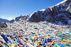 Prayer Flags 52 Dolma La Is Covered With Prayer Flags On Mount Kailash Outer Kora