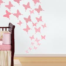 beautiful nursery wall stencils for painting inspiration wall