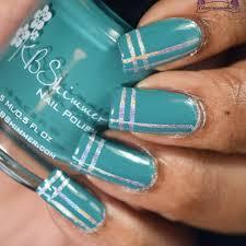 easy striping tape nail art tutorial glamorousnails23