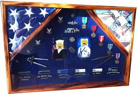 Military Flag Frame Shadowbox