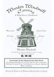 wooden windmill menu fremont dineries