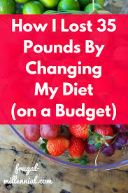 how i lost 35 pounds by changing my diet frugal millennial