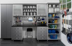 Garage Interior Design by Garage Storage Organized But Still Manly Design Solutions Kgp