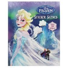 disney frozen sticker scenes disney sticker books works