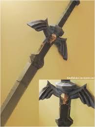 Master Sword Papercraft - master sword papercraft by katedakokiri on deviantart