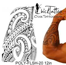 chicktattoo polynesian flash designs