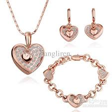 gold necklace bracelet earrings set images Unique gold necklace and bracelet set jewellry 39 s website jpg