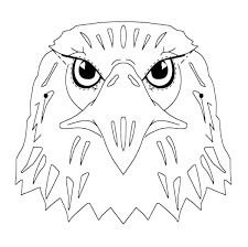 eagle head coloring pages kids coloring pages pinterest