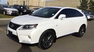 lexus 2013 rx 350 lexus certified pre owned white 2013 rx 350 awd f sport package