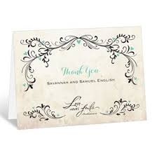 wedding thank you cards s bridal bargains